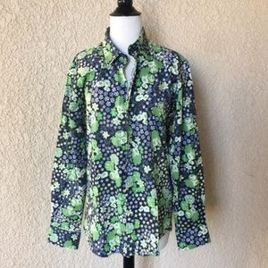 Moschino Floral Print Long Sleeve Shirt 44